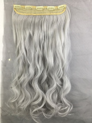 Lola Hair 70cm Straight Curly 3/4 Full Head One Piece 5clips Clip in Hair Extensions Long Poplar Style for Xmas Gifts