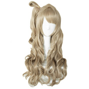 Yesui Love Live ! Minami Kotori Cosplay Wig Synthetic Wigs Heat Resistant Lace Front Wig For Women Dark Brown 80cm Long Wavy Hair Anime