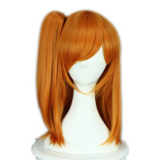 Yesui Love Live ! Kousaka Honoka Cosplay Wig Synthetic Wigs Heat Resistant Lace Front Wig For Women §°range 41cm Medium Straight Hair Anime