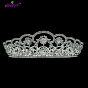 Austrian Rhinestone Crystals Tiara Full Crown Bridal Wedding Hair Jewellery Accessories Pageant Headpiece SHA8723