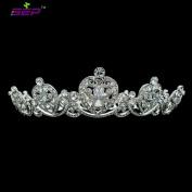 Really Austrian Crystals Tiara Full Crown Bridal Wedding Hair Accessories Women Hair Jewellery Birthday Crown Headpiece SHA8722