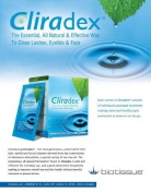 Cliradex Eyelid, Eyelash, and Facial Cleansing Towelettes, Box of 24 by BioTissue