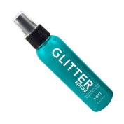 Yofi Cosmetics Hair and Body Glitter Spray | Turquoise