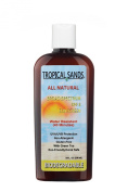 Tropical Sands All Natural Biodegradable Water Resistant Sunscreen - SPF 8 - 240ml - Great for Snorkelling - Reef Safe!