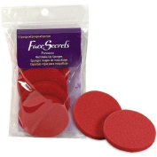 Face Secrets Professional Red Makeup Sponges by FACE SECRETS COSMETIC AC
