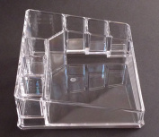 KAMAY'S Makeup Organiser Luxury Cosmetics Acrylic Clear Case Storage Insert Holder Box Organiser