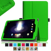 Sprint Slate 8 Tablet Case - Fintie [Slim Fit] Premium PU Leather Standing Folio Cover with Stylus Holder for Sprint Slate 20cm (AQT80) 4G LTE Tablet, Green