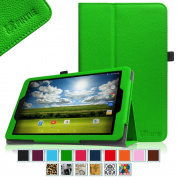 Sprint Slate 10 Tablet Case - Fintie [Slim Fit] Premium PU Leather Standing Folio Cover with Stylus Holder for Sprint Slate 25cm (AQT100) 4G LTE Tablet (2015 Release), Green