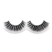 VOE Mink Strip Eyelashes Extension Fluffy Natural Horse Hair False Eye Lashes