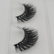 Handmade Luxurious 100% Real Mink Natural Long False Eyelashes Fake Eye Lashes Makeup