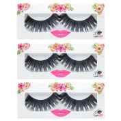 LashXO Lashes- Charisma-3 PK Premium Quality False Eyelashes. Shu Uemura, MAC, Make Up For Ever, and House of Lashes
