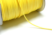 32ft (9.75m) (10.66 yards) 1.5mm Waxed Cotton Cord in Yellow, Round. Great Cord Supplies for your Jewellery Projects #SD-S7456