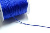 100m (328ft) (109 yards) 1mm Nylon Cords in Klein Blue, Chinese Knotting Cord, Spooled, Beading String for Beads #SD-S7608