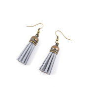 1 Pair Earring Jewellery Making Charms Antique Bronze Findings Hooks Supplies Wholesale Supply Handmade E7JB4 Silver Tassels
