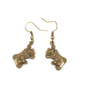 2 Pairs Earring Jewellery Making Charms Antique Bronze Findings Hooks Supplies Wholesale Supply Handmade D2JB6 Christmas Boot