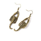 20 Pairs Earring Jewellery Making Charms Antique Bronze Findings Hooks Supplies Wholesale Supply Handmade P3CP2 Scorpion