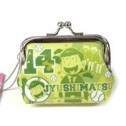 Japanese Manga SIX SAME FACES Konya wa Saikou Osomatsu-Kun Character Kiss Lock Coin Purse