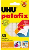 UHU Palafix Glue Pad Removable Reusable White 80 pads