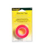 Omnigrid Glow-line Transparent Flourescent Tape