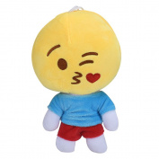 Fullkang Creative Cute Emoji Expression Plush Toy Doll