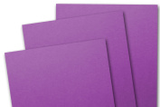 Blank Basis Dark Magenta 5x7 Flat Card Invitations - 50 Pack