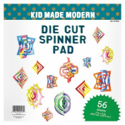 Kid Made Modern Die Cut Spinner Pad 56ct