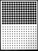 23cm x 30cm Circles Layer Me Stencil by Carolyn Dube