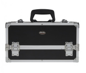 Seya Beauty Pro Makeup Train Case with Dual Tray Removable & Adjustable Plastic Dividers