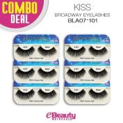 Kiss Broadway Eyelashes Combo Deal 6-Packs