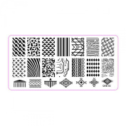 Susenstone®1Pc Nail Art Image Stamp Stamping Plates Manicure Template DIY Template Tool