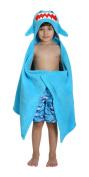 ZOOCCHINI Sherman the Shark Hooded Towel