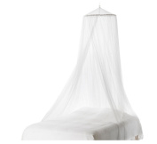 Home White Bed Mosquito Netting Mesh Canopy Round Dome Bedding Net