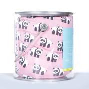 KicKee Pants Print Fitted Crib Sheet, Lotus Panda
