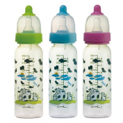 Basilic BPA Free PPSU Anti Colic Standard Neck Feeding Bottle, 240ml