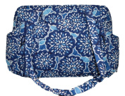 Vera Bradley Make a Change Baby Bag In Petal Splash