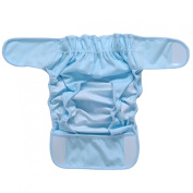 Onlybaby Baby's Washable Nappies Cover 0-12months 2pcs Set Medium Blue