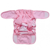 Onlybaby Baby's Washable Nappies Cover 0-12months 2pcs Set Small Pink