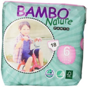 Abena Bambo Nature Premium Baby Nappies, Training Pant, Size 6, 18 Count by Abena [parallel import goods]