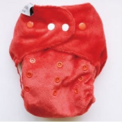 itti bitti (Ittibitti) Red Organic cotton cloth nappies