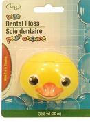 Yellow Duck Head Dental Floss, Kids Flossers