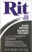 Max point home dye Rit powder type No.25 Dark Brown