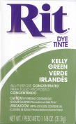 Max points household dye Rit powder type No.32 Kelly Green