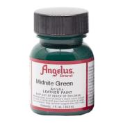 Angelus Leather Paint 30ml Midnight Green