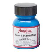 Angelus Leather Paint 30ml Neon Bahama Blue