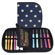eBoot Crochet Hook Set with 9 Crochet Needles and 22 Accessories to Stay Organised
