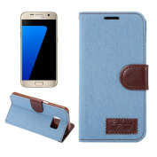 S7 Case, Galaxy S7 Wallet Case, SAVYOU Cowboy Pattern PU Leather Case Flip Cover with Card Slots & Stand Cover For Samsung Galaxy S7