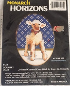 Country Lamb Printed Cross Stitch Kit TA53