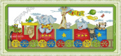Beverly Stamped Cross Stitch Kits The Train Of Happiness