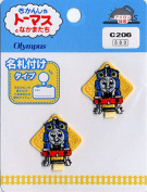 Orimupasu Thomas the Tank Engine name tag with emblem C206