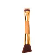 Bamboo Slenderizer Double-ended Contouring Brush Makeup Buffer Blending Brushes